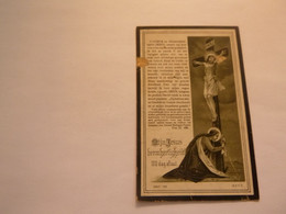 Doodsprentje  ( 5225 )  Claus  /  Bogaert    -   Kallo    1916 - Obituary Notices