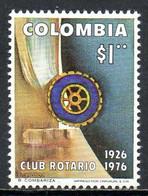 COLOMBIE. N°701 De 1977. Rotary. - Rotary, Lions Club