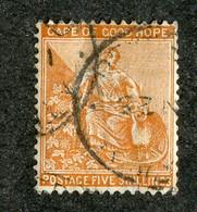 BC 1099 Cape 1887 SG.#54 (o) Sc.#53 Wmk CA Offers Welcome! - Cape Of Good Hope (1853-1904)