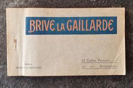 Carnet 12 Cartes Postales Brive La Gaillarde - Brive La Gaillarde