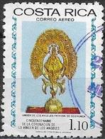 COSTA RICA 1977 Air. 50th Anniversary Of Coronation Of Our Lady Of The Angels - 1col.10 - Our Lady Of The Angels FU - Costa Rica