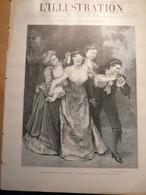 Illustration Les Salons De 1901 Reproduction De Tableaux De Peinture - L'Illustration