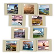 Great Britain - 2021 - National Parks - Postcards Set - Ongebruikt