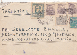 S/S Fort George At Santos In Brazil Sending A Cover To Germany Posted Sao Paulo 1962 (A473) - Cartas