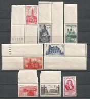 FRANCE ANNEE 1947 N°772 à 779 NEUFS** MNH COTE 20,50€ REMISE-90% - Nuovi
