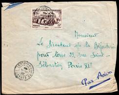 Afrique Occidentale Francaise - 1953 - Letter - Air Mail - Envoye En France - A1RR2 - Covers & Documents