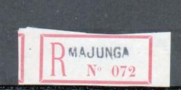Erinophilie, Vignette De Recommandation, Majunga, Madagascar - Autres