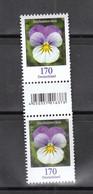 Deutschland BRD **  3473  Blumen Stiefmütterchen Mit EAN Code Und Nummer - Nuevos