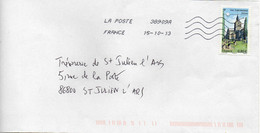 N° 4726 Y. Et T. Oblitération Toshiba TSC 1000 38909A (Migné Auxances Poitiers PIC) Flamme Muette Du 15/10/2013 - 1961-....