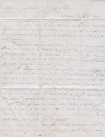 1840 BORDEAUX - Entrée En Rivière Du Paquebot De LA HAVANE 3.000 Bois De Campêche, Les INDIGOS Ont Subis Sur Lemarché - Documenti Storici