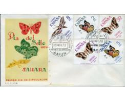 Ref. 350891 * MNH * - SPANISH SAHARA. 1970. BUTTERFLIES . MARIPOSAS - Sahara Spagnolo