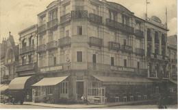 WENDUINE S/MER :Hôtels Des Boulevards - TRES RARE VARIANTE - Cachet De La Poste 1932 - Wenduine