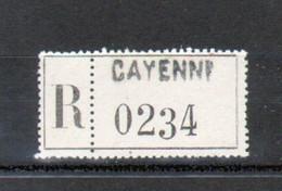 Erinophilie, Vignette De Recommandation, Cayenne - Autres