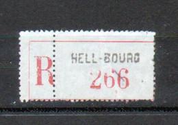 Erinophilie, Vignette De Recommandation, Hell-Bourg - Autres