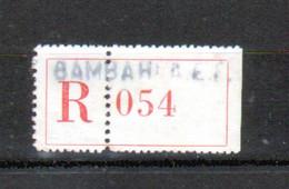 Erinophilie, Vignette De Recommandation, Bambari A.E.F. - Autres