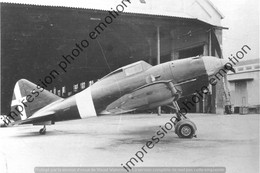 PHOTO AVION  RETIRAGE REPRINT    De REGGIANE RE200 - Aviation