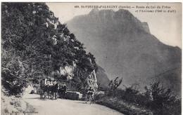 73 ST PIERRE D'ALBIGNY **Route Du Col Du Rêne Et L'Arclusaz** Diligence - Sin Clasificación