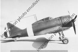 PHOTO AVION  RETIRAGE REPRINT   Reggiane Re 2000 (2) - Aviation