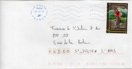 France N° 4756 Y Et T Obl Bleue Double Ondulati Néopost 38909A (Migné Auxances Poitiers PIC) Flamme Muette Du 20/11/2013 - 1961-....