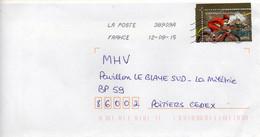 N° 4762 Y. Et T. Oblitération Toshiba TSC 1000 38909A (Migné Auxances Poitiers PIC) Flamme Muette Du 12/08/2013 - 1961-....