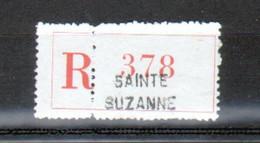 Erinophilie, Vignette De Recommandation, Sainte Suzanne - Autres
