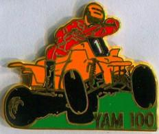 YAM 100 >> PIN'S SIGNE BALLARD COMBS-LA-VILLE  -TRES BON ETAT - Motorfietsen