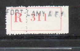 Erinophilie, Vignette De Recommandation, Fort Lamy, A.E.F. - Autres