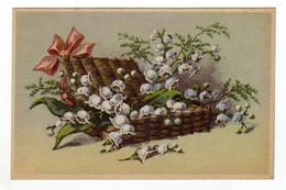 Cpa Représentant Des Brins De Muguet - Flowers