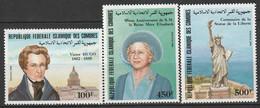 COMORES - N°418/20 ** (1985) Evénements - Comoros