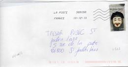 N° 4805 Y. Et T. Oblitération Toshiba TSC 1000 38909A (Migné Auxances Poitiers PIC) Flamme Muette Du 10/12/2013 - 1961-....