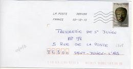 N° 4808 Y. Et T. Oblitération Toshiba TSC 1000 38909A (Migné Auxances Poitiers PIC) Flamme Muette Du 02/12/2013 - 1961-....