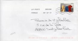 N° 4824 Y. Et T. Oblitération Toshiba TSC 1000 38909A (Migné Auxances Poitiers PIC) Flamme Muette Du 06/12/2013 - 1961-....