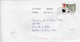 N° 4825 Y. Et T. Oblitération Toshiba TSC 1000 38909A (Migné Auxances Poitiers PIC) Flamme Muette Du 23/12/2013 - 1961-....