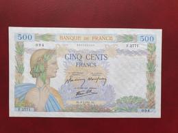 Billet De 500 Francs Paix Du 8 Mai 1941 Craquant Pas De Fente - 500 F 1940-1944 ''La Paix''