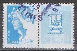 FRANCE 2010 __N°4469 __OBL VOIR SCAN - Used Stamps