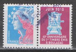 FRANCE 2010 __N°4470 __OBL VOIR SCAN - Used Stamps