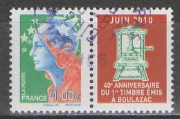 FRANCE 2010 __N°4471 __OBL VOIR SCAN - Used Stamps