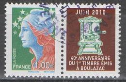 FRANCE 2010 __N°4472 __OBL VOIR SCAN - Used Stamps