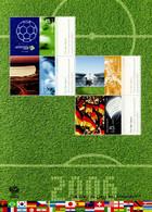 BRD 2006 - Block 67 - Postfrisch - Fußball-Weltmeisterschaft, Deutschland - Mi-Nr. 2517-2519 - Katalogwert = 8,50 € - Blokken