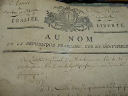 Laisser Passer De L'Armée De Sambre Et Meuse - Documentos Históricos