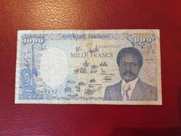 Billet De 1000 Francs CFA Du Gabon - Gabun