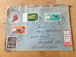 K15 BRD 1975 R-Brief Von Köln - Storia Postale