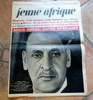 JEUNE AFRIQUE - Le Sommet D' Addis-Abeba- Ferhat ABBAS- Mamadou DIA - Maroc D'HASSAN II - URSS En Afrique - - Politics