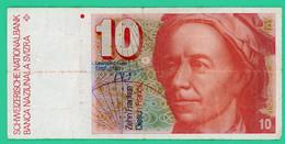 10 Francs - Suisse - N° 82E0755069 - TB + - - Switzerland