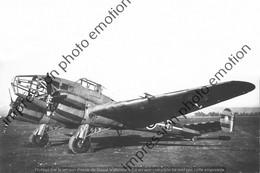 PHOTO AVION  RETIRAGE REPRINT      POTEZ 6311 GR 136 - Aviation