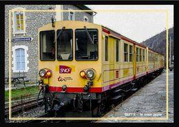 66    OLETTE  .... Le  Train  Jaune  En  Gare - Andere Gemeenten