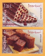 2020 Moldova Moldavie  National Cookery. Cakes, Dessert. 1v Mint - Moldavië