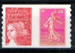 """FRANCE Y&T N° P 3619 & 3685 ADHESIF """" Centenaire De La Semeuse De Roty """" à 25% De La Cote - Adhesive Stamps"""