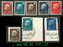 1936 - Mi. Nr. 716 - 25 - Irán