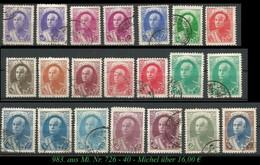 1936 - Aus Mi. Nr. 726 - 40 - Irán
